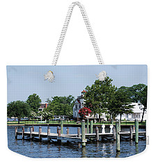 Edenton Waterfront Weekender Tote Bag