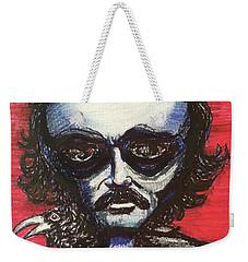 Edgar Alien Poe Weekender Tote Bag by Similar Alien