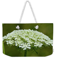 Edge Of Queen Anne's Lace Weekender Tote Bag
