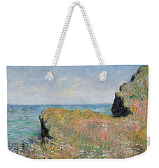 Edge Of The Cliff Pourville Weekender Tote Bag