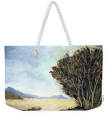 Edge Of The Mohave Weekender Tote Bag