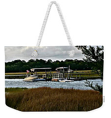 Edge Of The Park Weekender Tote Bag