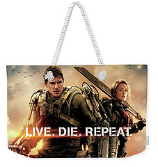 Edge Of Tomorrow Weekender Tote Bag