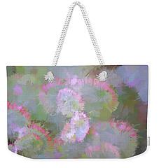 Edged In Pink Weekender Tote Bag