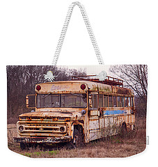 Weekender Tote Bag featuring the photograph Edgewood by Ester Rogers