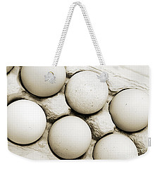 Edgy Farm Fresh Eggs Weekender Tote Bag