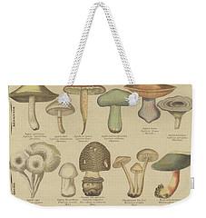 Edible And Poisonous Mushrooms Weekender Tote Bag