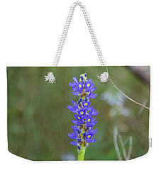 Edible Pickerel Weed Weekender Tote Bag by Christopher L Thomley