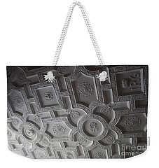 Weekender Tote Bag featuring the photograph Edinburg Castle by Mary-Lee Sanders