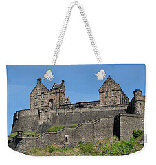 Weekender Tote Bag featuring the photograph Edinburgh Castle by Jeremy Lavender Photography