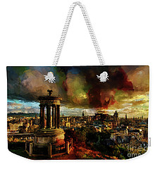 Edinburgh Scotland 01 Weekender Tote Bag