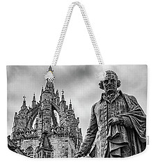 Edinburgh Statue Of Adam Smith Weekender Tote Bag