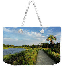 Weekender Tote Bag featuring the photograph Edisto by Jessica Brawley