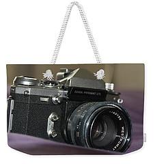 Weekender Tote Bag featuring the photograph Edixa Prismat L T L by John Schneider