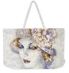 Edwardian Elegance Weekender Tote Bag by Shirley Stalter
