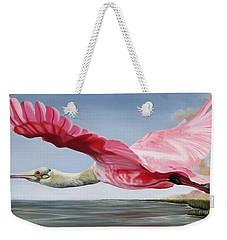 Edwin's Roseate Spoonbill Weekender Tote Bag