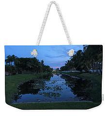 Eerie Canal Weekender Tote Bag