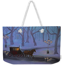 Eerie Evening Weekender Tote Bag