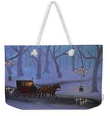 Eerie Evening Weekender Tote Bag