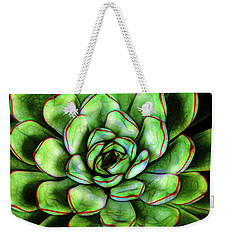 Weekender Tote Bag featuring the photograph Effervescent Joy by Jessica Manelis