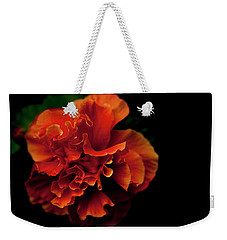 Weekender Tote Bag featuring the photograph Efflorescence by Eric Christopher Jackson