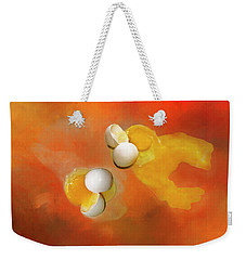 Eggs Weekender Tote Bag by Carolyn Marshall