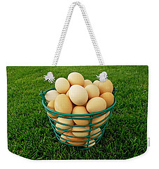 Eggs In A Basket Weekender Tote Bag