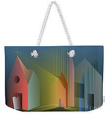 Ego Sum Via Veritas Et Vita Weekender Tote Bag by Leo Symon