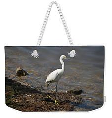 Egret 1 Weekender Tote Bag