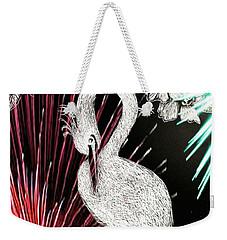 Egret 16-02d Weekender Tote Bag by Maria Urso