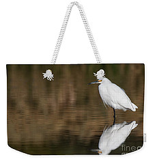 Egret After All This Time  Weekender Tote Bag
