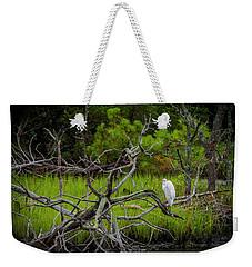 Egret At Pine Knoll 2 Weekender Tote Bag