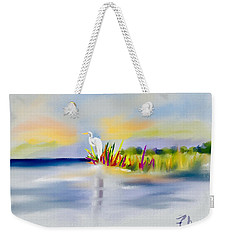 Egret Bliss Weekender Tote Bag