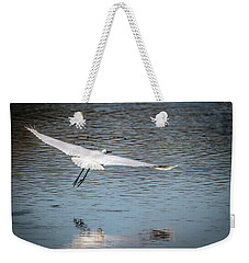 Egret Flight Plan Weekender Tote Bag