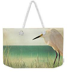 Egret In Morning Light Weekender Tote Bag