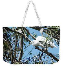 Egret In Rookery Weekender Tote Bag