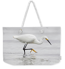 Egret In The Ocean Weekender Tote Bag