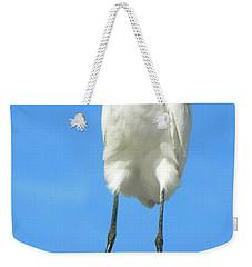 Egret Focused And Poised Weekender Tote Bag