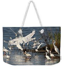 Egret Mania 2 Weekender Tote Bag