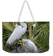 Egret Nest Weekender Tote Bag