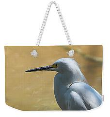 Egret Pose Weekender Tote Bag