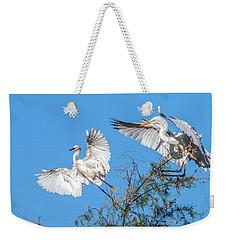 Egrets 4460-090314-2cr Gwr Weekender Tote Bag
