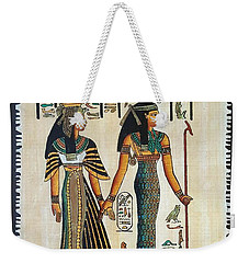 Egyptian Papyrus Weekender Tote Bag