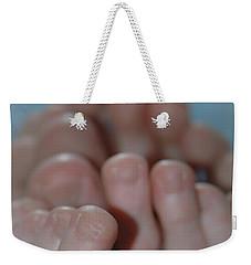 Egyptian Toes Weekender Tote Bag