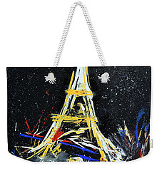 Eiffel Weekender Tote Bag by Gary Smith