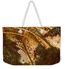 Paris, France - Eiffel Oldplate II Weekender Tote Bag