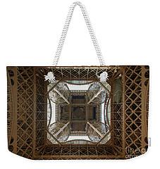 Eiffel Tower Abstract Weekender Tote Bag