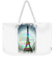 Eiffel Tower Bubble Weekender Tote Bag