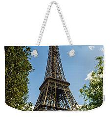 Eiffel Tower Through Trees Weekender Tote Bag