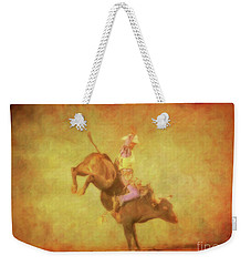 Eight Seconds Rodeo Bull Riding Weekender Tote Bag